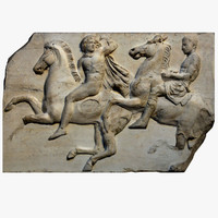 frieze parthenon 3d 3ds