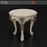 silvano tea table 3d model
