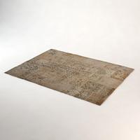 eichholtz carpet vintage patchwork 3d x