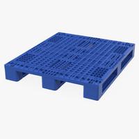 Plastic Pallet Blue