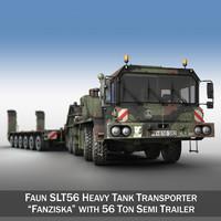 3d faun stl-56 - heavy model