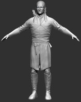 legolas greenleaf 3d model