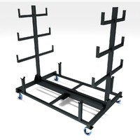 3d max pipe rack mobile