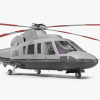 utility helicopter sikorsky s76 3d 3ds