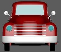 3d pickup 1951
