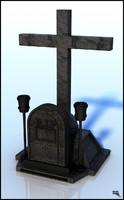 tomb grave obj
