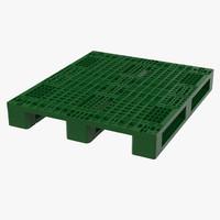 Plastic Pallet Green