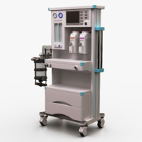 3d anesthesia machine model