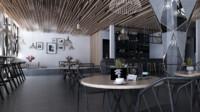interior coffee 3d model