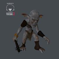 goblin robber 3d model