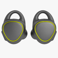 3d samsung gear iconx model