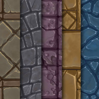 Hand Painted Stone Texture