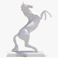 3d model decorate sculpture animal 5