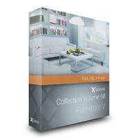3d model volume 68 furniture v