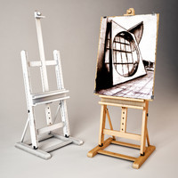max easel art painting