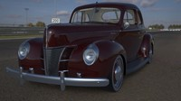 Ford 1940 coupe Deluxe