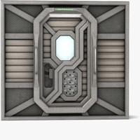 Sci-Fi Door A