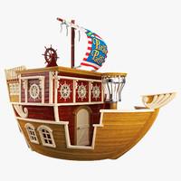 Childrens Pirate Ship