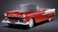 Chevrolet Bel Air 1955 Convertible VRAY