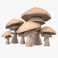 Lowpoly Mushrooms 02