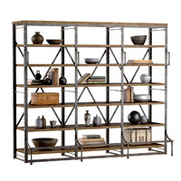FRENCH LIBRARY WIDE RACK II