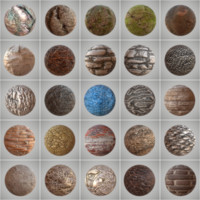 25 Seamless PBR Materials Collection Vol 1