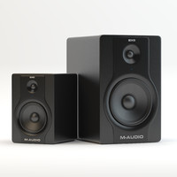 m-audio bx8 and bx5