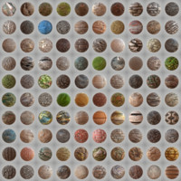 100 Seamless PBR Materials Master Collection