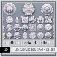 1D Pearlworks Medallions collection