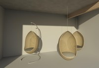 Revit Hanging Egg Chair 01