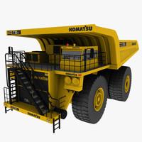 komatsu mining truck