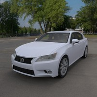 3d lexus gs model