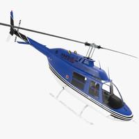Bell 206 JetRanger Rigged