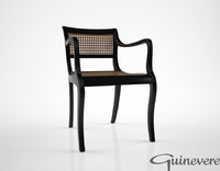Guinevere Anglo Indian Regency Style chair