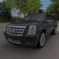 cadillac escalade 3d 3ds