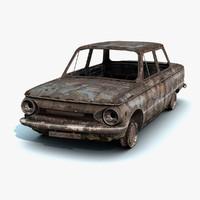 ZAZ-968 Burnt