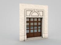 architectural element 2 3d model
