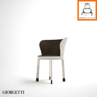 Groundhog 3D Models | Giorgetti ODE Chair