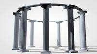 Columns Temple