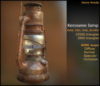 max kerosene lamp dae