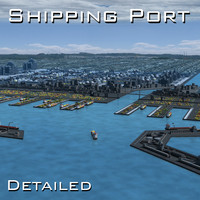 Harbour Seaport Port shipping