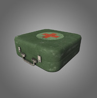 Medkit Low-Poly