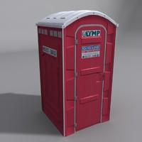 Public Toilet (red)