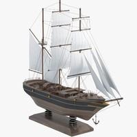 Sail Boat Miniature