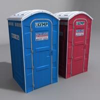Public Toilet set