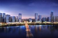 3D City Scene 017