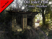 Old toilet PBR