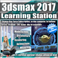 3ds max 2017 Learning Station Subscription 2 Computer