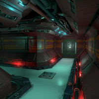 Sci Fi Corridor Kit - Game Ready PBR