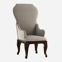 Custom made antique dining chair